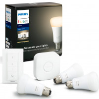 Hue Bluetooth 3x žárovka LED E27 9,5W 806 lm 2700K + bridge + switch