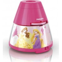 LED LAMPIČKA S PROJEKTOREM 2 v 1 Disney Princess 71769/28/16